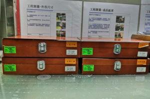 Набор калибров для проверки диаметров отверстий
